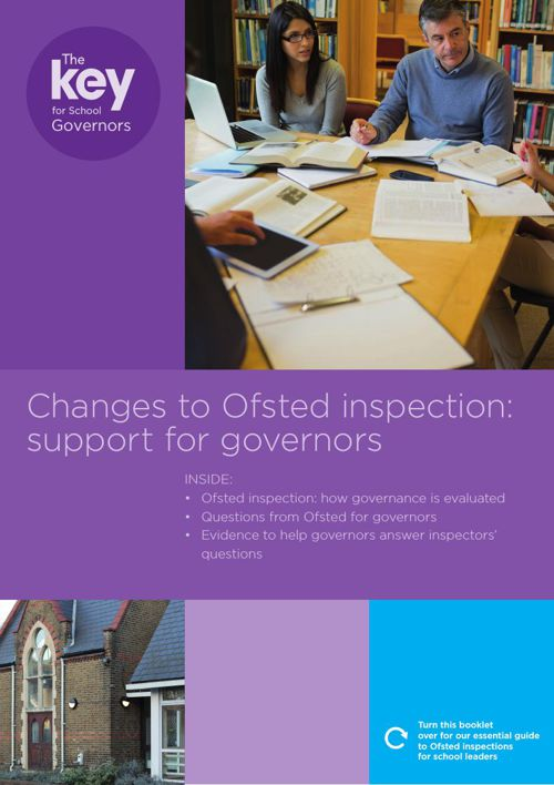 OFSTED Booklet for School Governors 2015