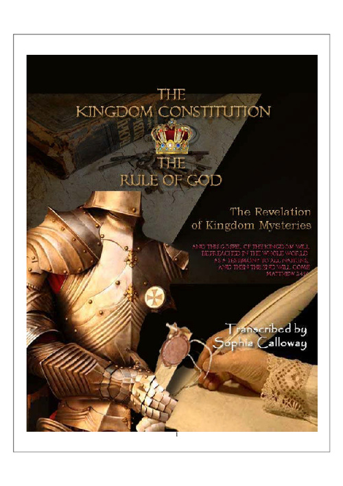 The Constitution of The Kingdom