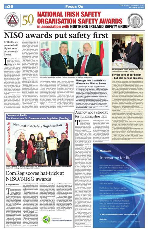 NISO Awards 2013