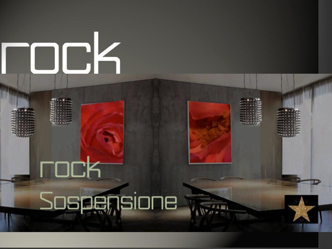 "The ""ROCK"" New Suspension Lighting Series By Millions of Color®"