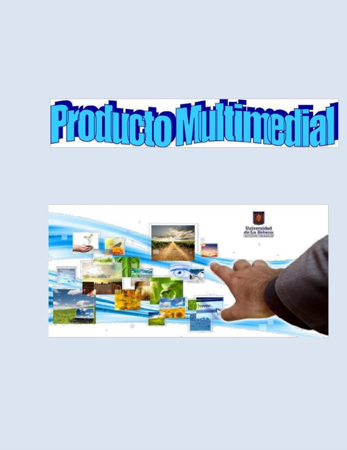 Producto multimedia