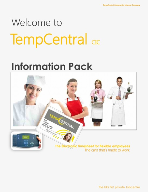 TempCentral Information