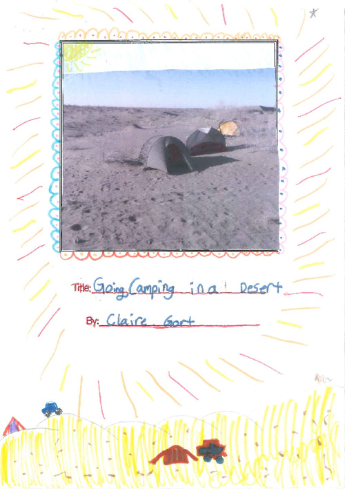 Camping in a Desert - Claire 3F