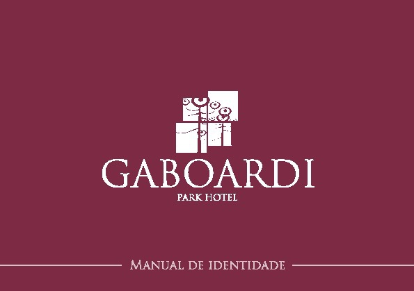 Manual de Identidade Gaboardi Park Hotel