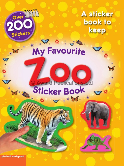 My Favourite Sticker Activity - Zoo