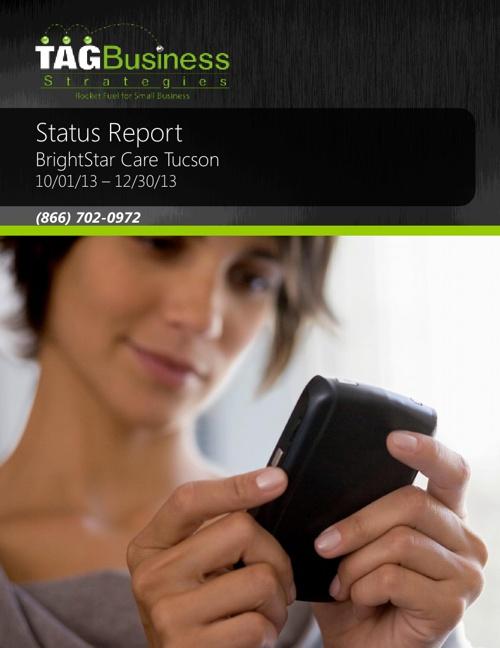 BrighStar Care Tucson Q4 2013 Status Rpt