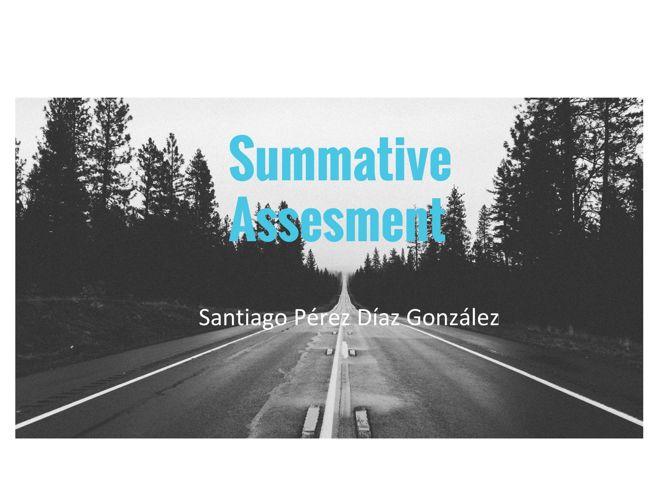 Summative Assesment