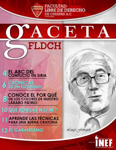 GACETA FLDCH-INEF SEPTIEMBRE 2015