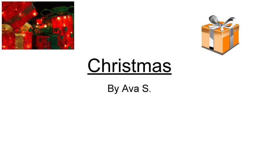 Christmas - Ava