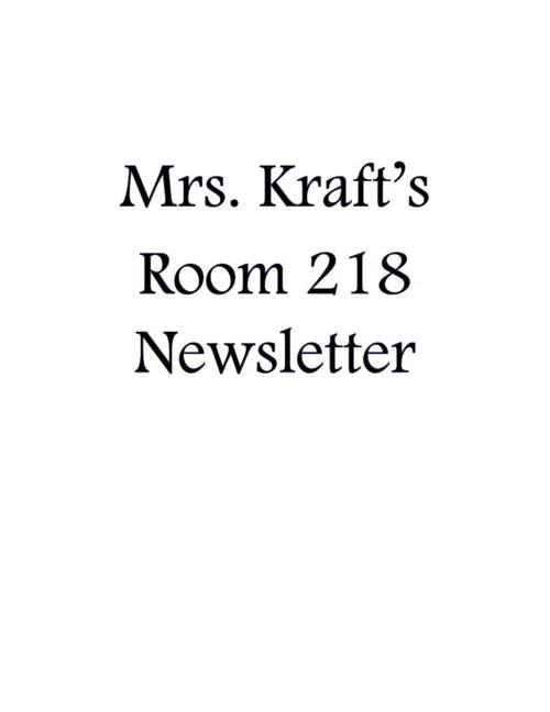 Mrs Kraft