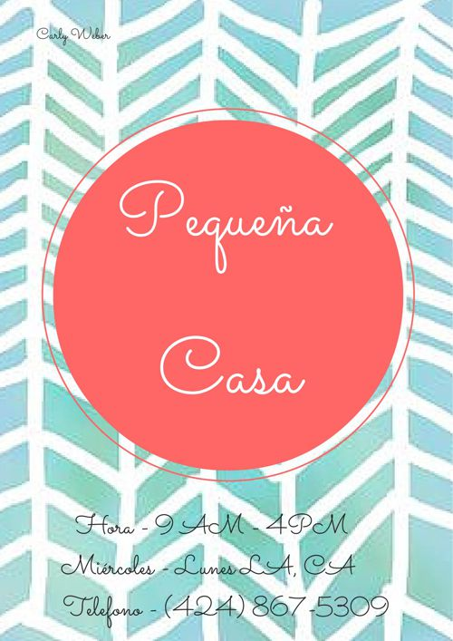 Carly Project- Pequena Casa