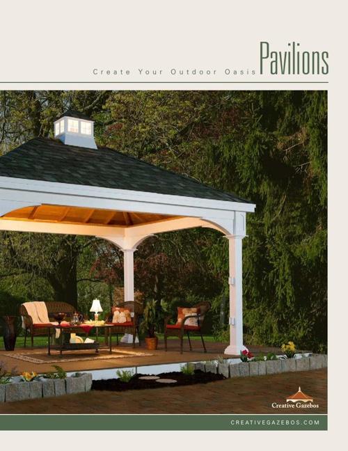 Creative Gazebos 2014 Pavilion Catalog