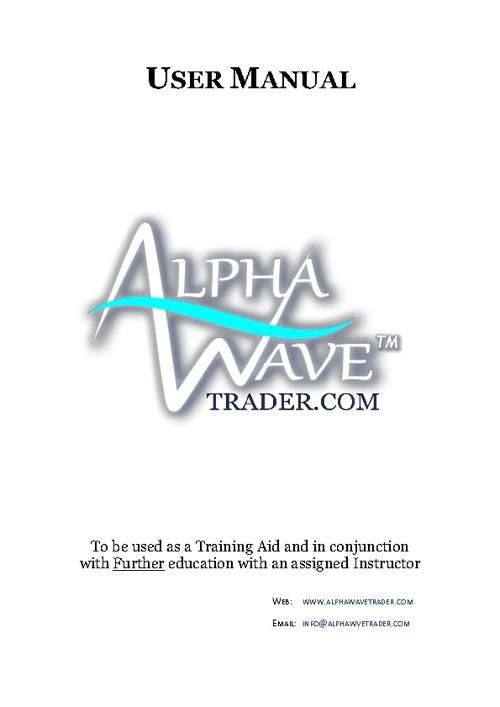 AlphaWave Training Manual