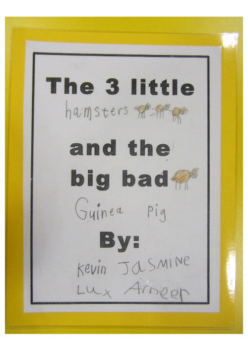 K2-L's The 3 Little Hamsters and the Big Bad Guinea Pig