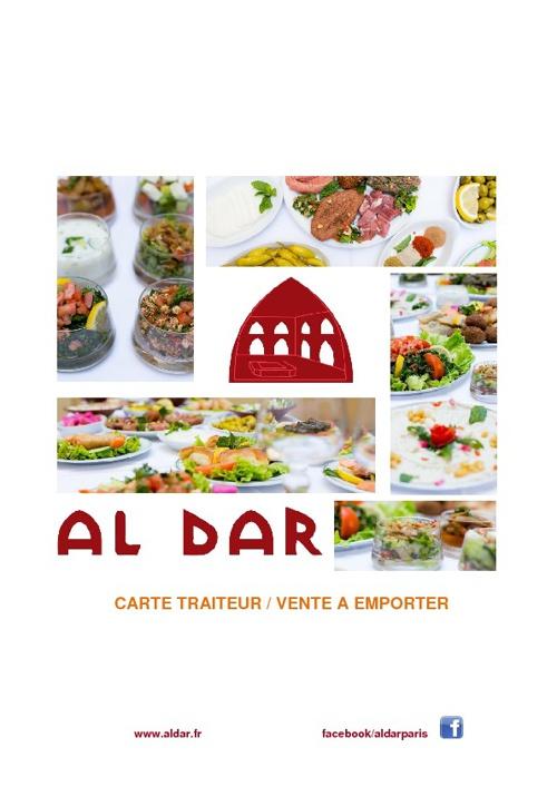 Al Dar // Carte Traiteur - Vente à Emporter