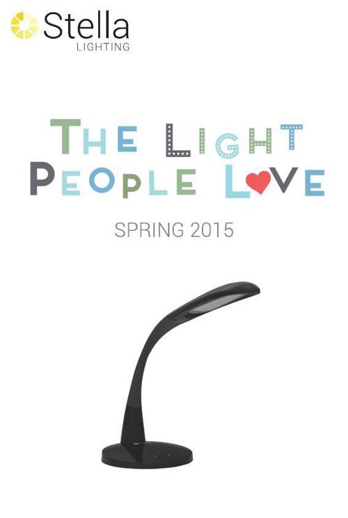Copy of Stella Lighting Spring 2015 Product Catalog