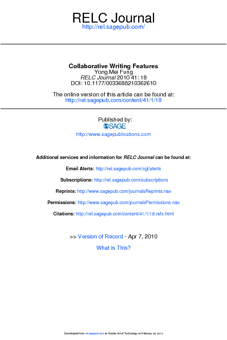 Fung_Collaborative Writing Features