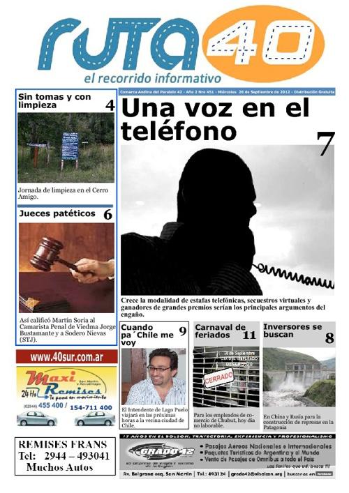 Diario Miércoles 26 de Septiembre