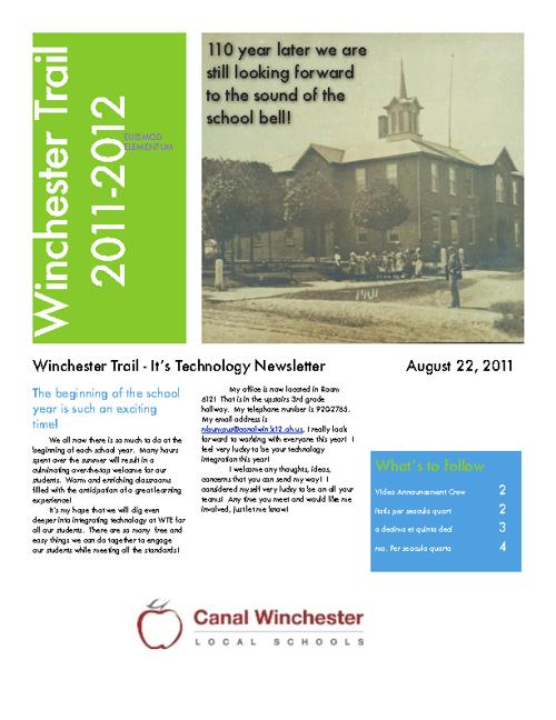 WTE - It's Technology Newsletter