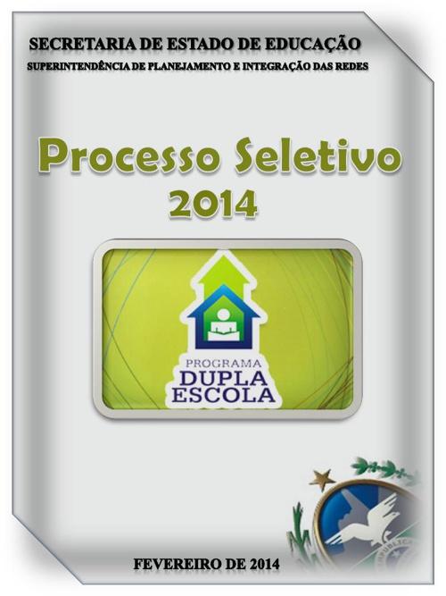 Processo Seletivo - Book