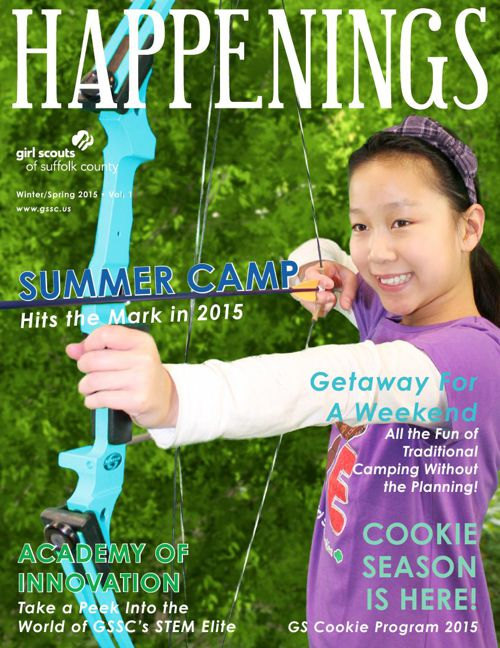 Happenings Winter/Spring 2015 - Vol. 1