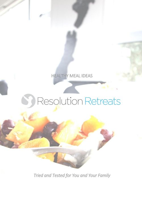 Resolution Retreats Recipe Book