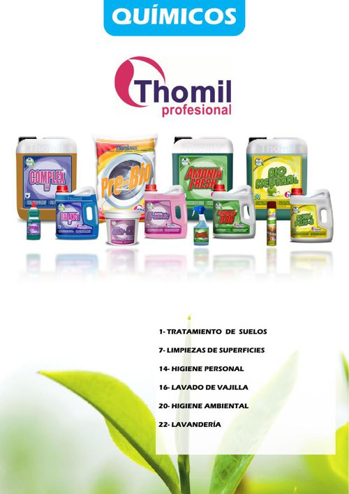 2015 QUIMICOS THOMIL