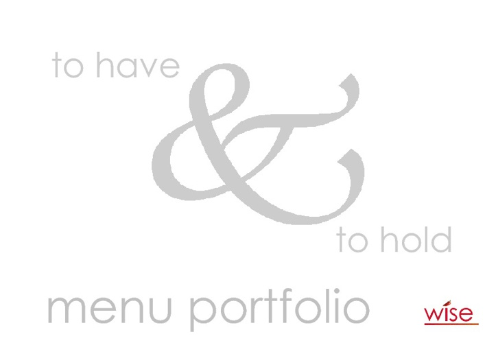 Wise Portfolio 2013