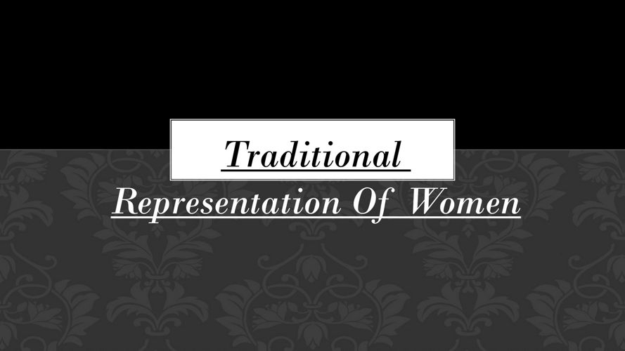 Representation of women