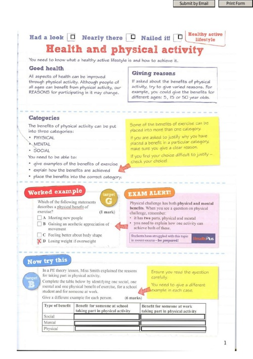 P.E Revision Guide (interactive)