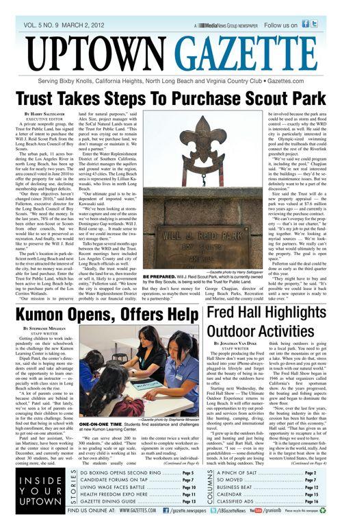 Uptown Gazette     March 2, 2012