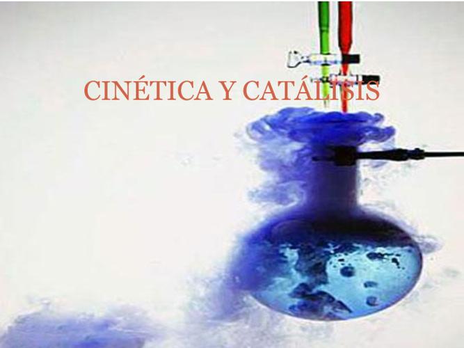 CURSO CINÉTICA Y CATÁLISIS