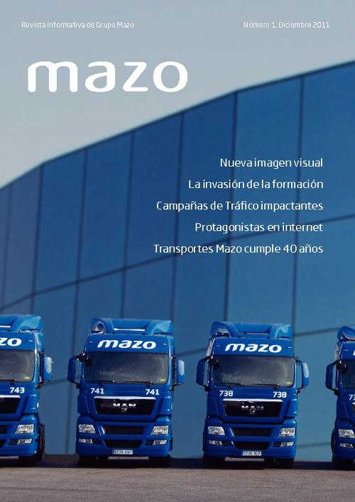 Número 1.Revista Grupo Mazo.