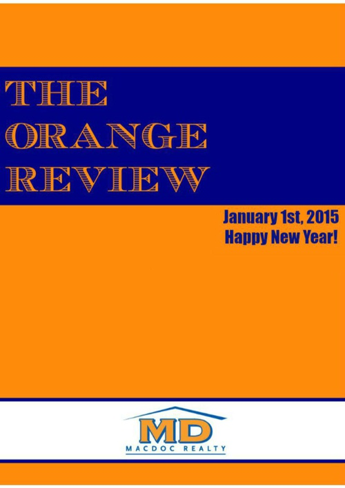January Orange Review