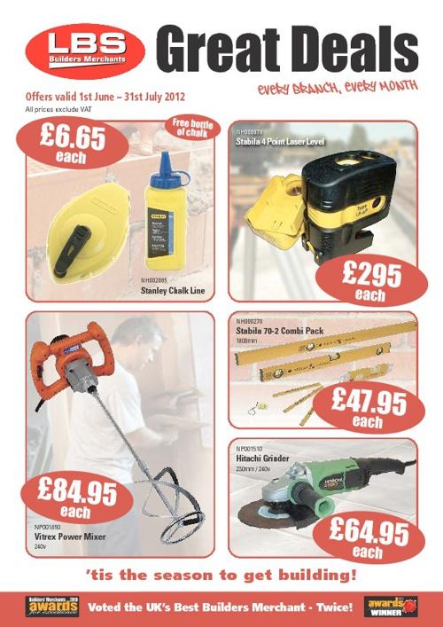 Great Deals : June - July 2012