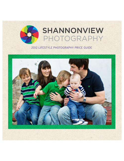 Shannonview Photography | Price Guide