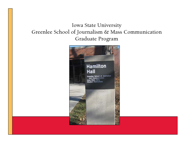 JLMC Graduate Program