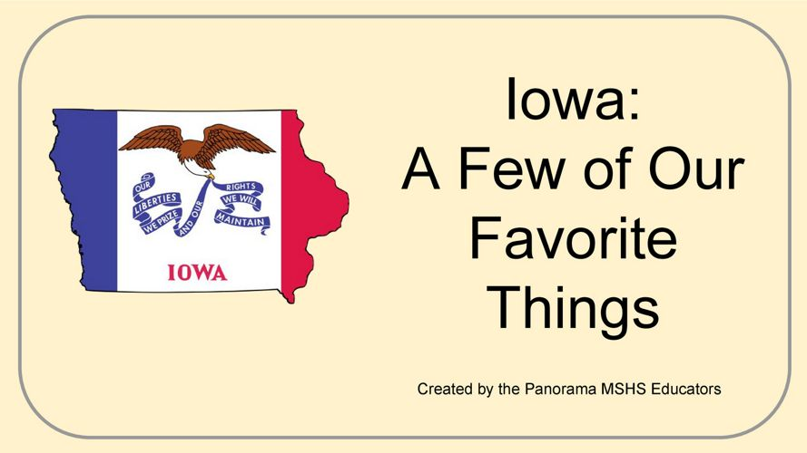 Panorama MSHS-  The Iowa Book