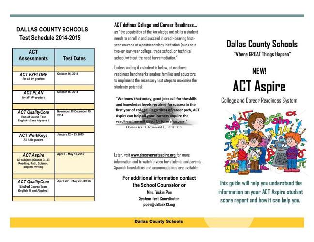 Brochure ACT ASpire Draft