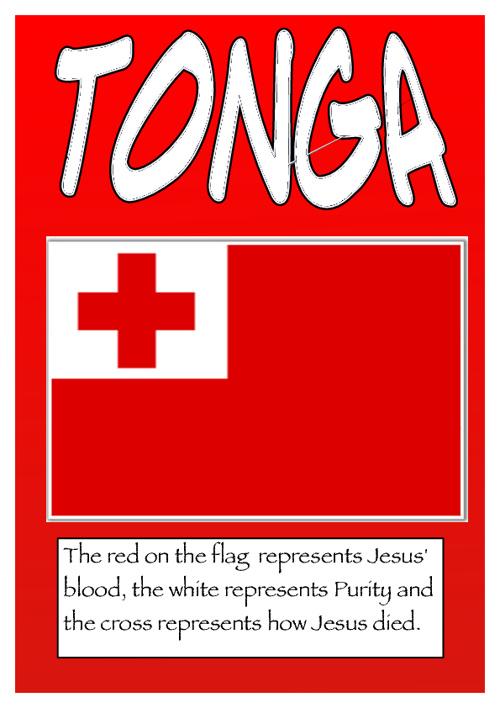 Tonga by  Lota, Ariana, Kallista, Jaedyn