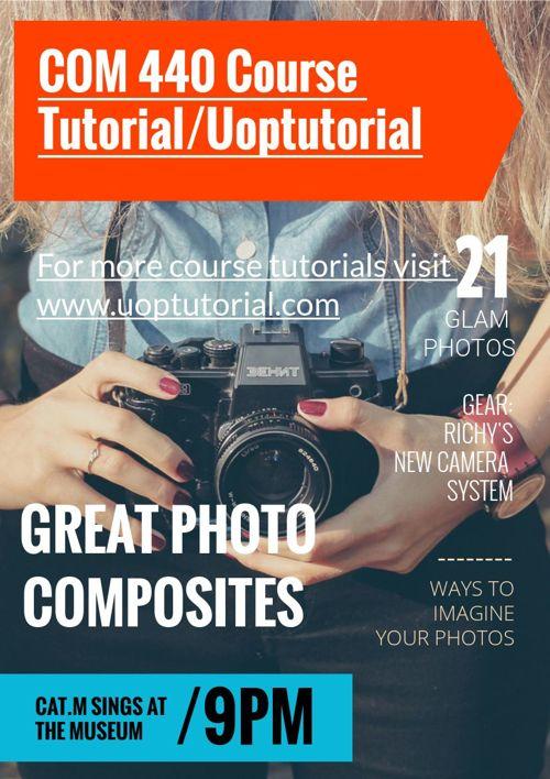 COM 440 Course Tutorial/Uoptutorial