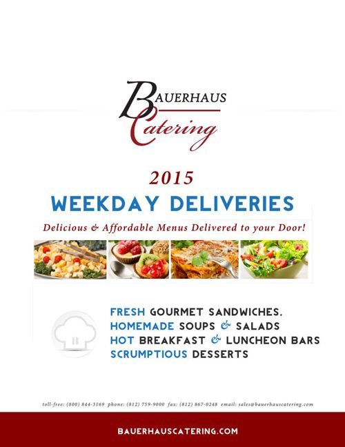 Bauerhaus Catering Weekday Specials