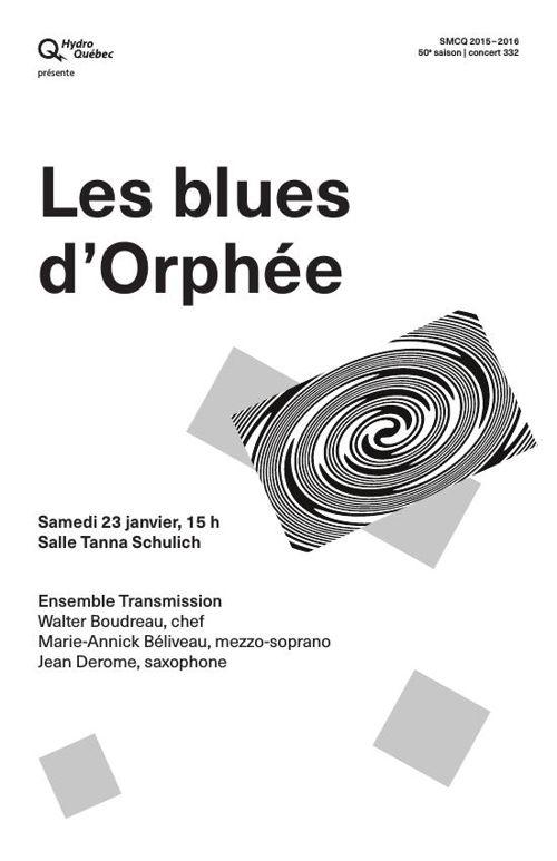 SMCQ : Les blues d'Orphée