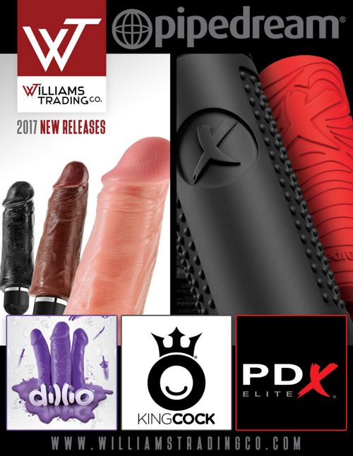 2017 Pipedream New Releases - Williams Trading Co.