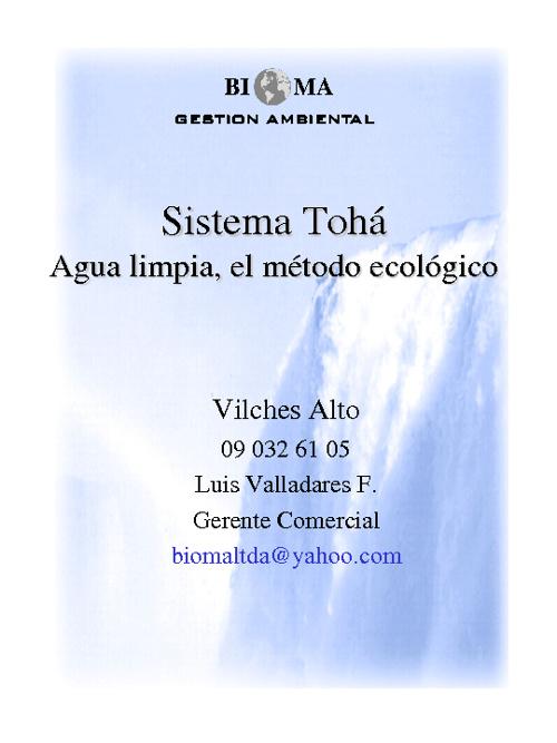 bioma tohá