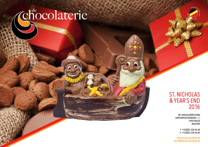 DE CHOCOLATERIE ST NICHOLAS & YEAR'S END 2016
