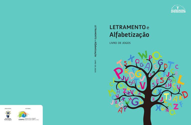 Letramento - Livro de Jogos e Língua Portuguesa Vol.1