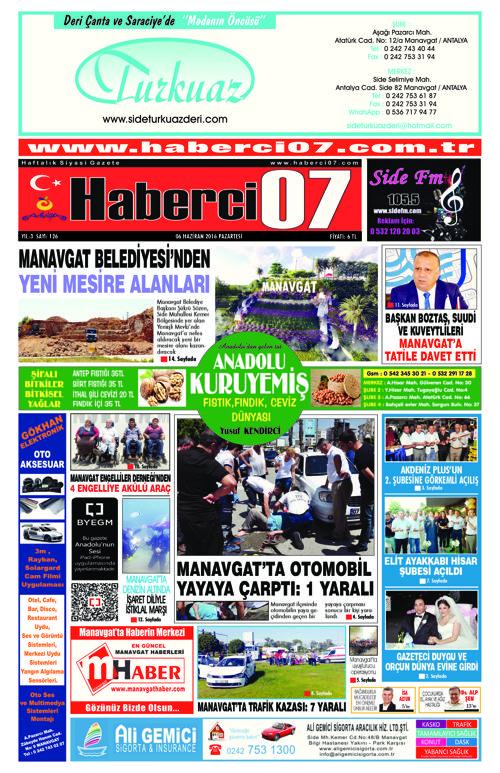HABERCİ07 GAZETESİ 126.SAYI