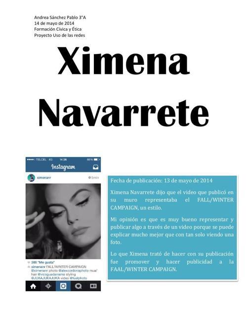 Ximena Navarreted