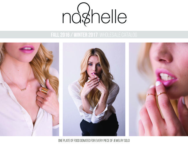 Nashelle Fall Winter 2016/2017 Wholesale Catalog